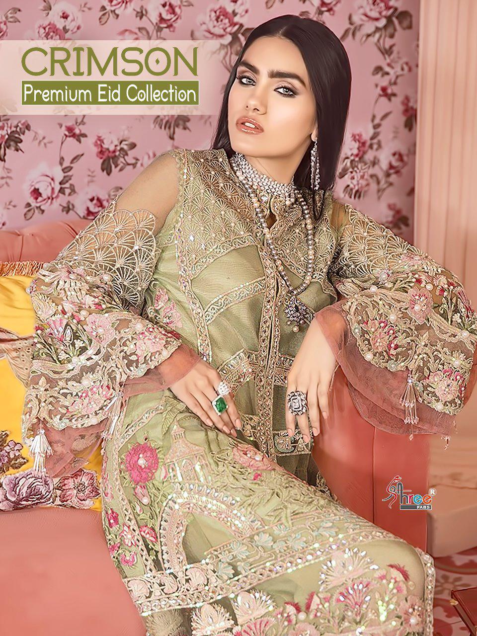 Shree Fab Crimson Premium Eid Collection Best Wholesale Rate