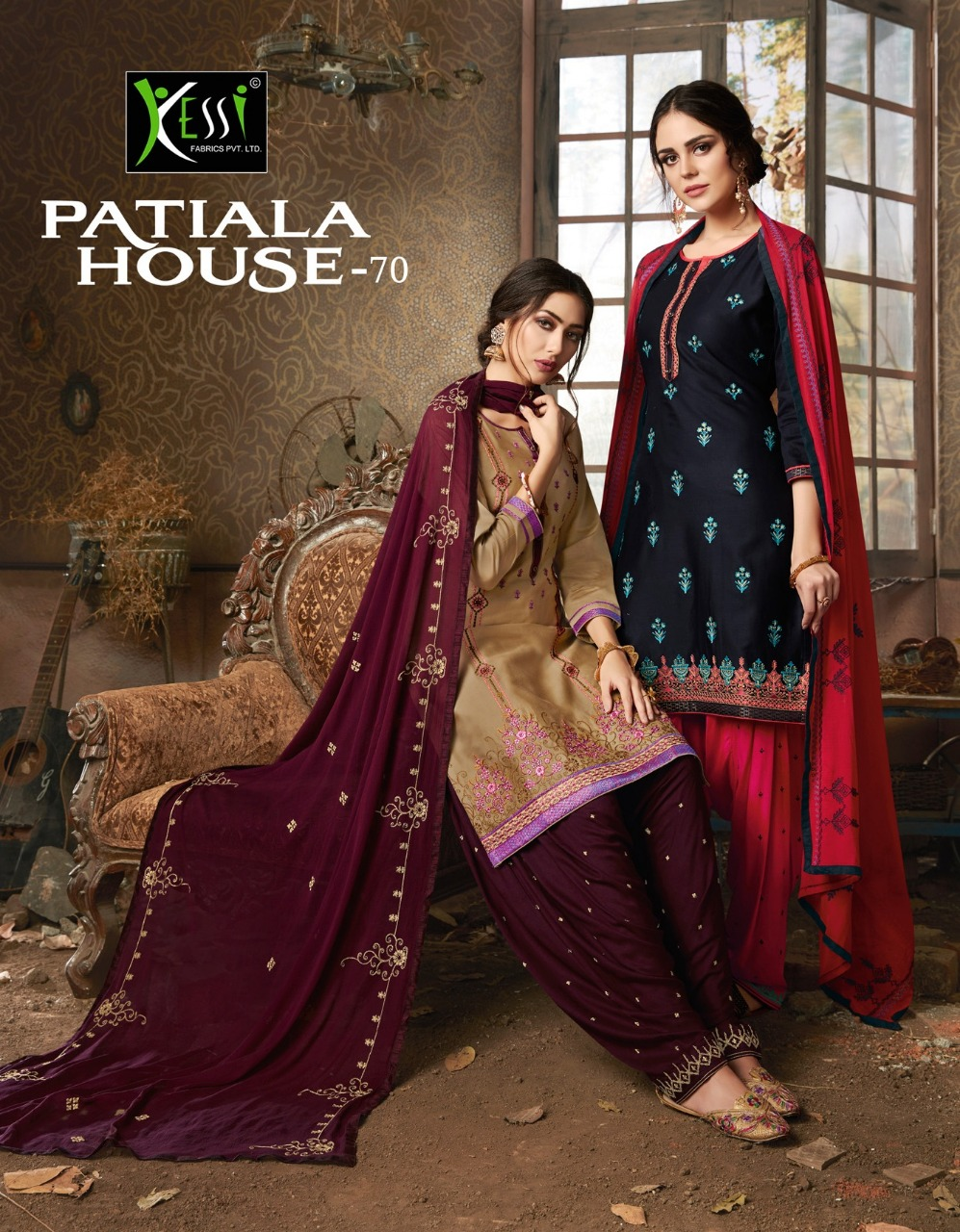 Kessi Fabric Patiyala House Vol 70 Designer Suit Wholesale.