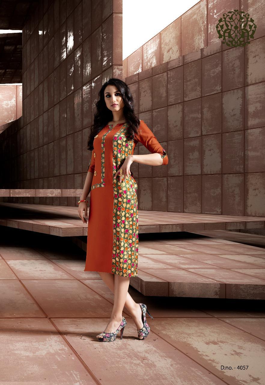 Krishriyaa Instyle Vol 4 Designer Rayon Kurtis Wholesale