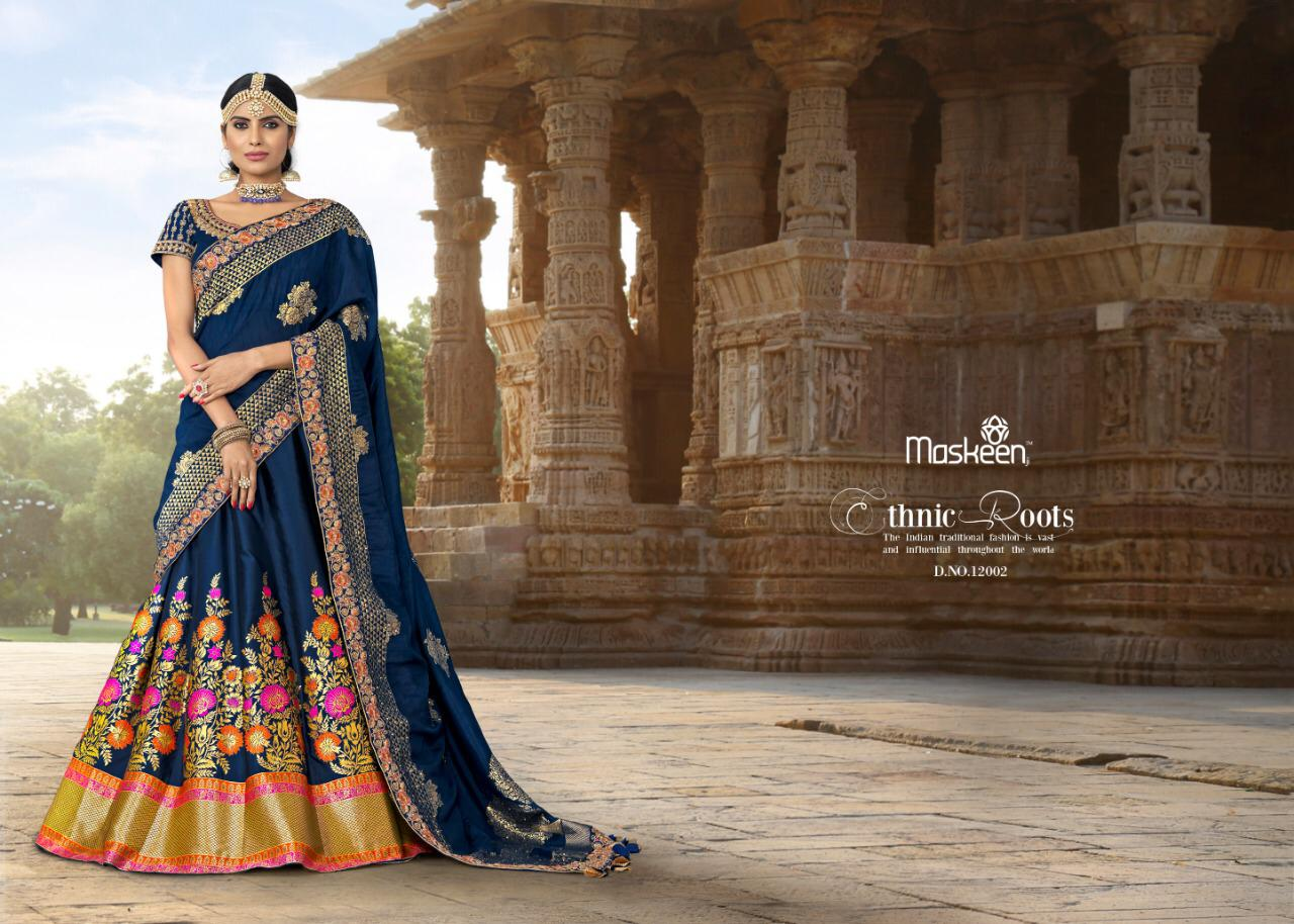 Maisha Maskeen Lehnga Vol 3 Designer Bridal Lehnga Wholesale