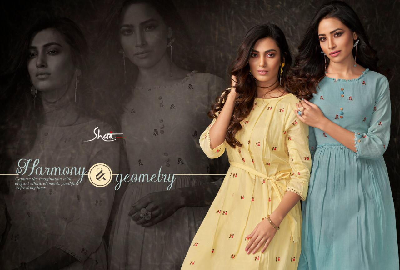 Haya Shai Pure Cotton Designer Kurti With Plazzo Wholesale