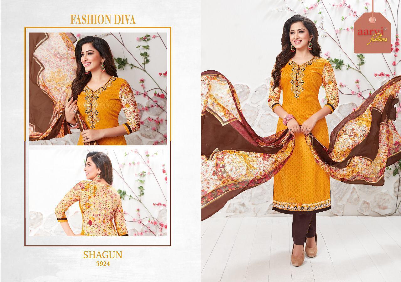Aarvi Shagun Vol 1 Designer Suits In Singles