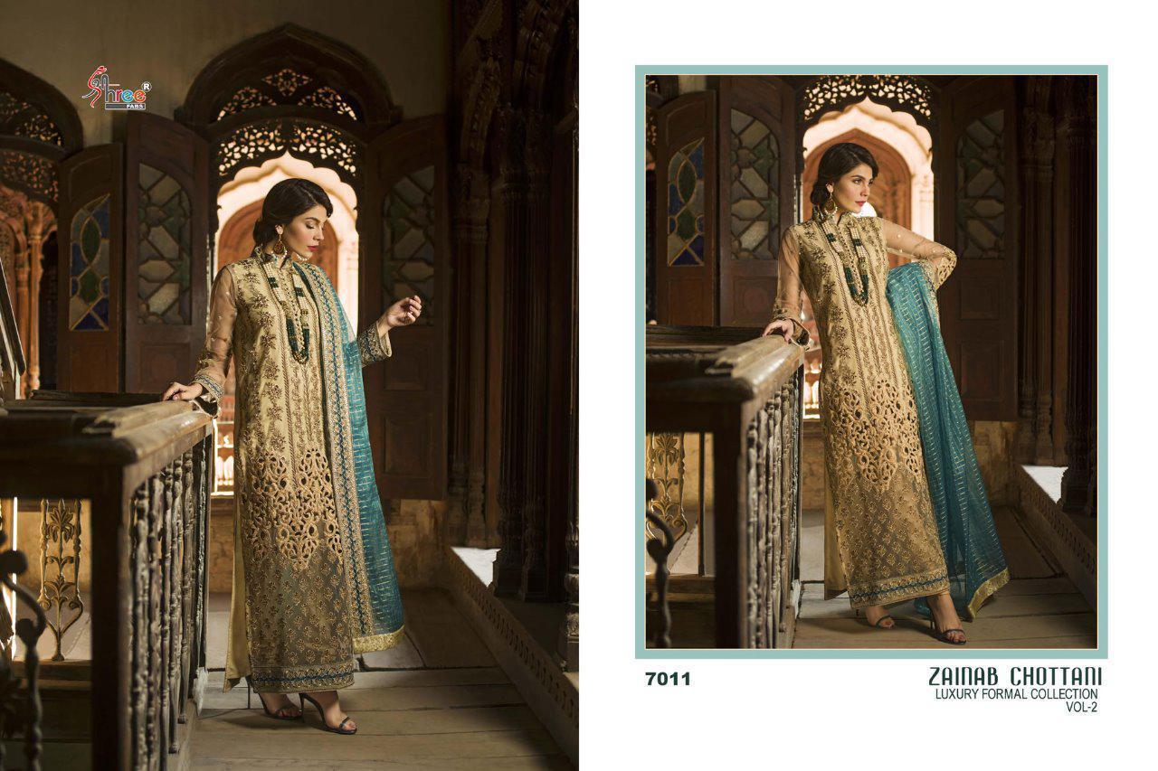 Shree Fab Zainab Chottani Vol 2 Designer Suit In Single