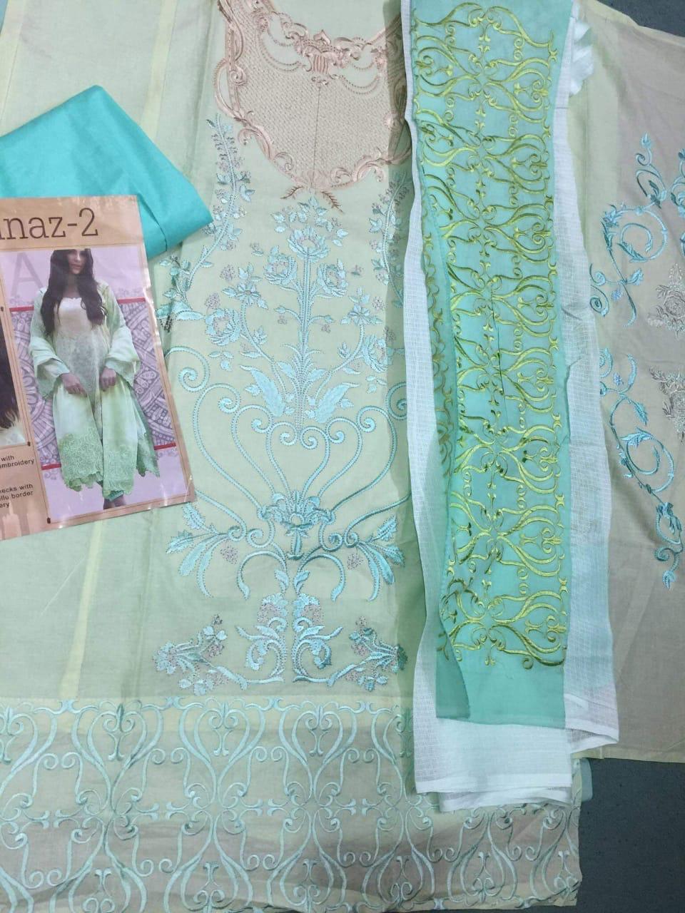 Deepsy Rinaaz 2 Designer Pure Cotton Suit In Single
