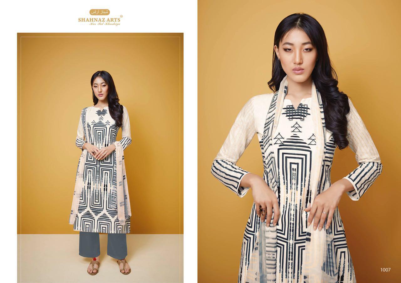 Shahnaz Arts Barkat Designer Suit In Single