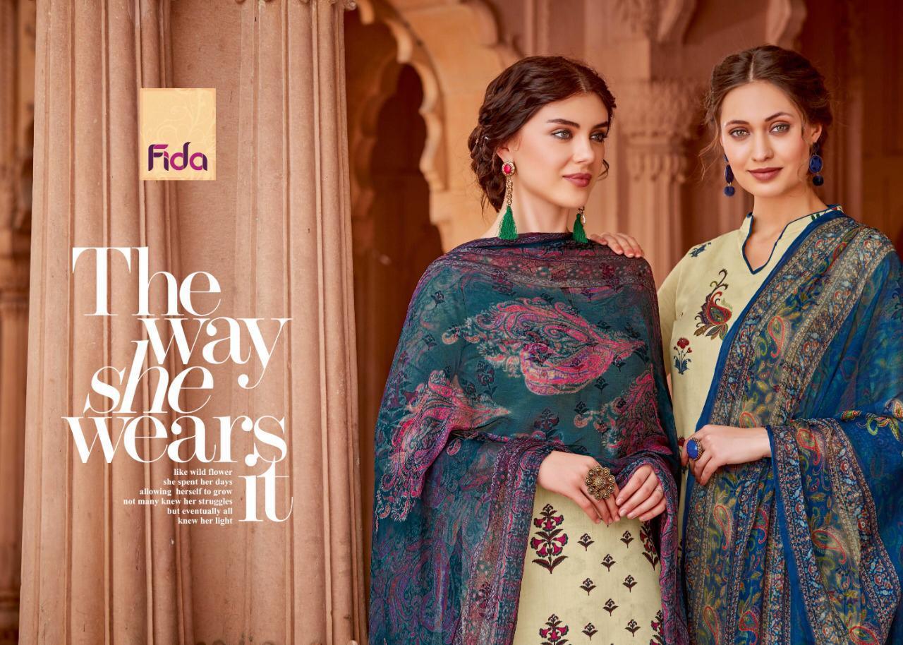 Fida Ishani Designer Pure Cotton Suits Best Wholesale Rate