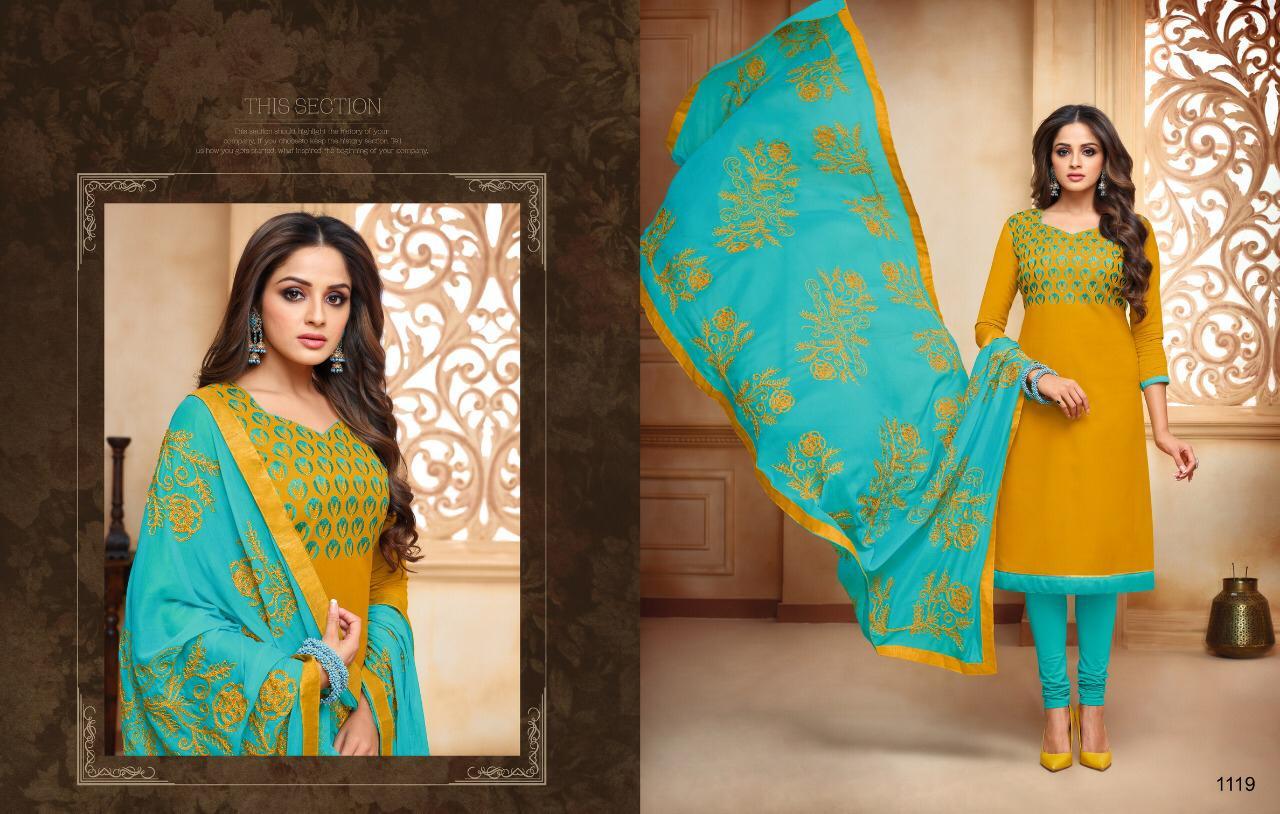 Kasmeera Kamini Cotton Vol 9 Designer Suits Wholesale