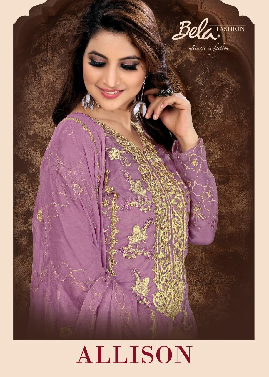 Bela Allison Designer Eid Collection Heavy Suits Wholesale