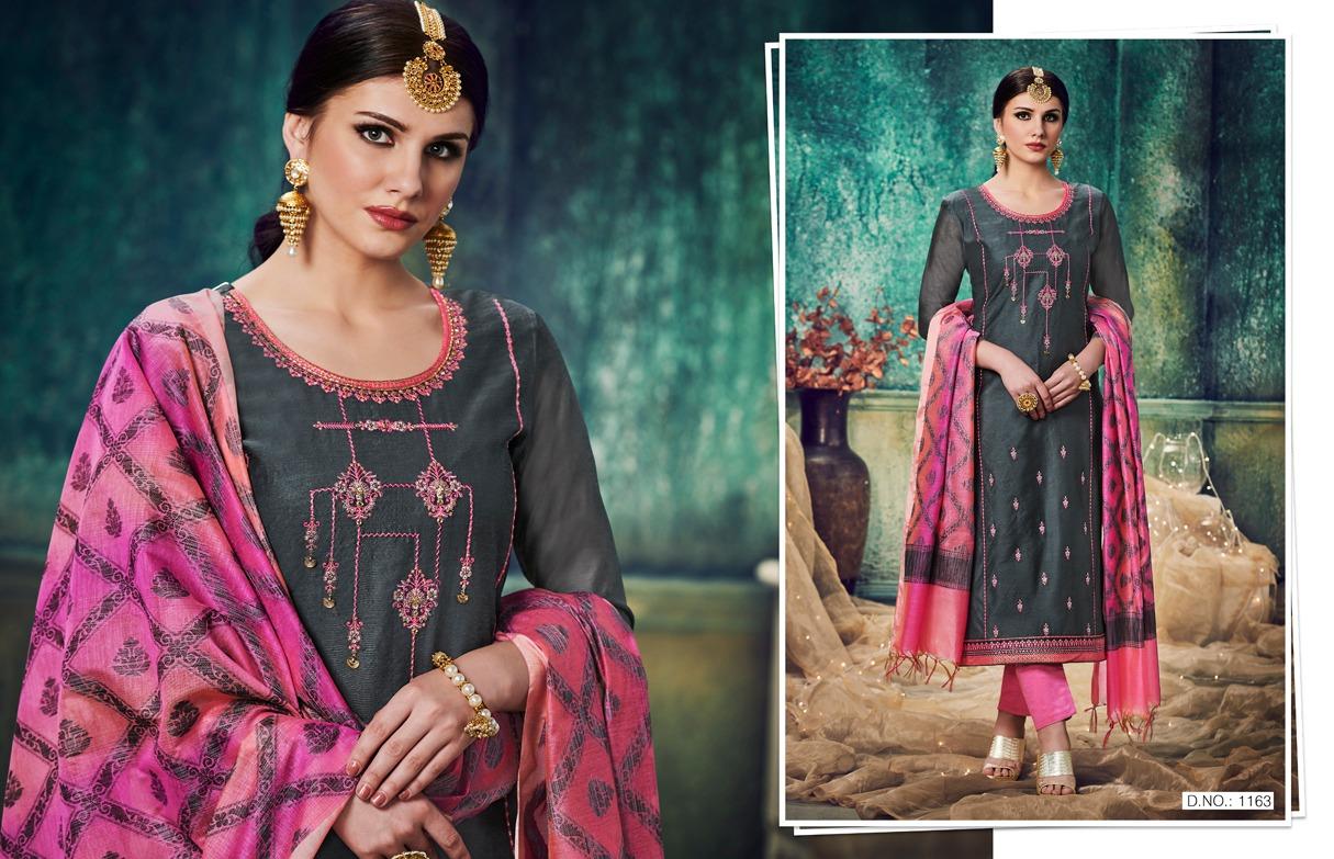Kajree Rangrasiya Designer Patiyala Stitched Suits Wholesale