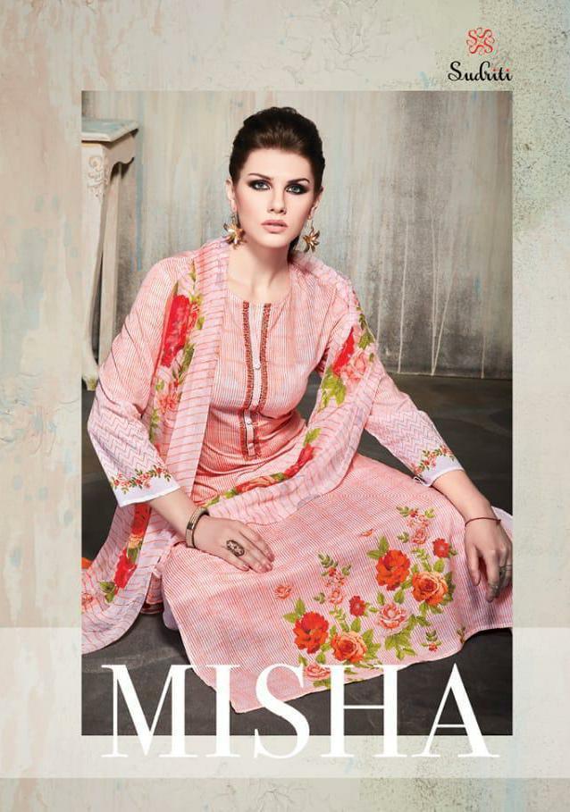 Sahiba Sudriti Misha Designer Digitalprint Suit Wholesale.