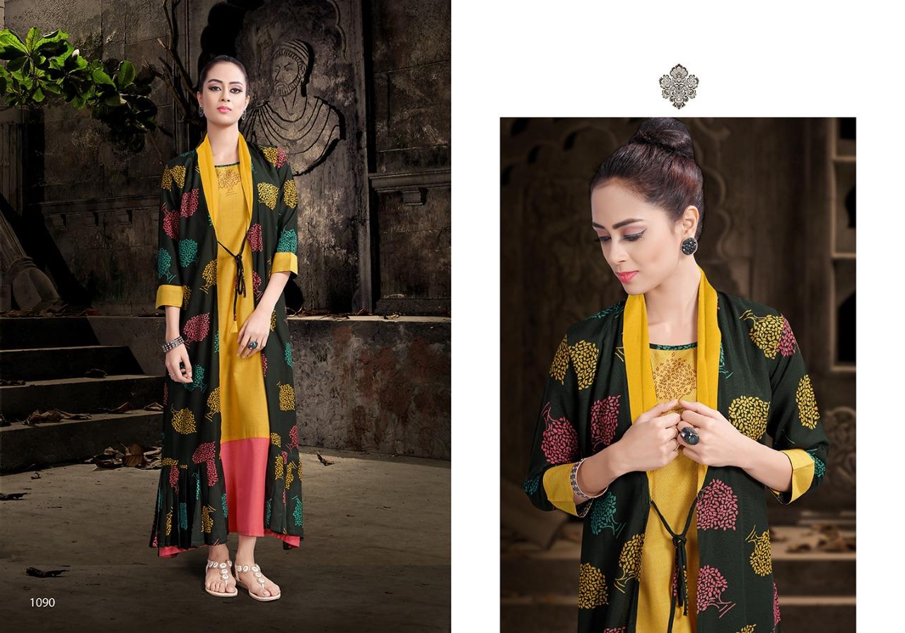 Manya Mansi Fashion Glamour Rayon Printed  Kurti Wholesale