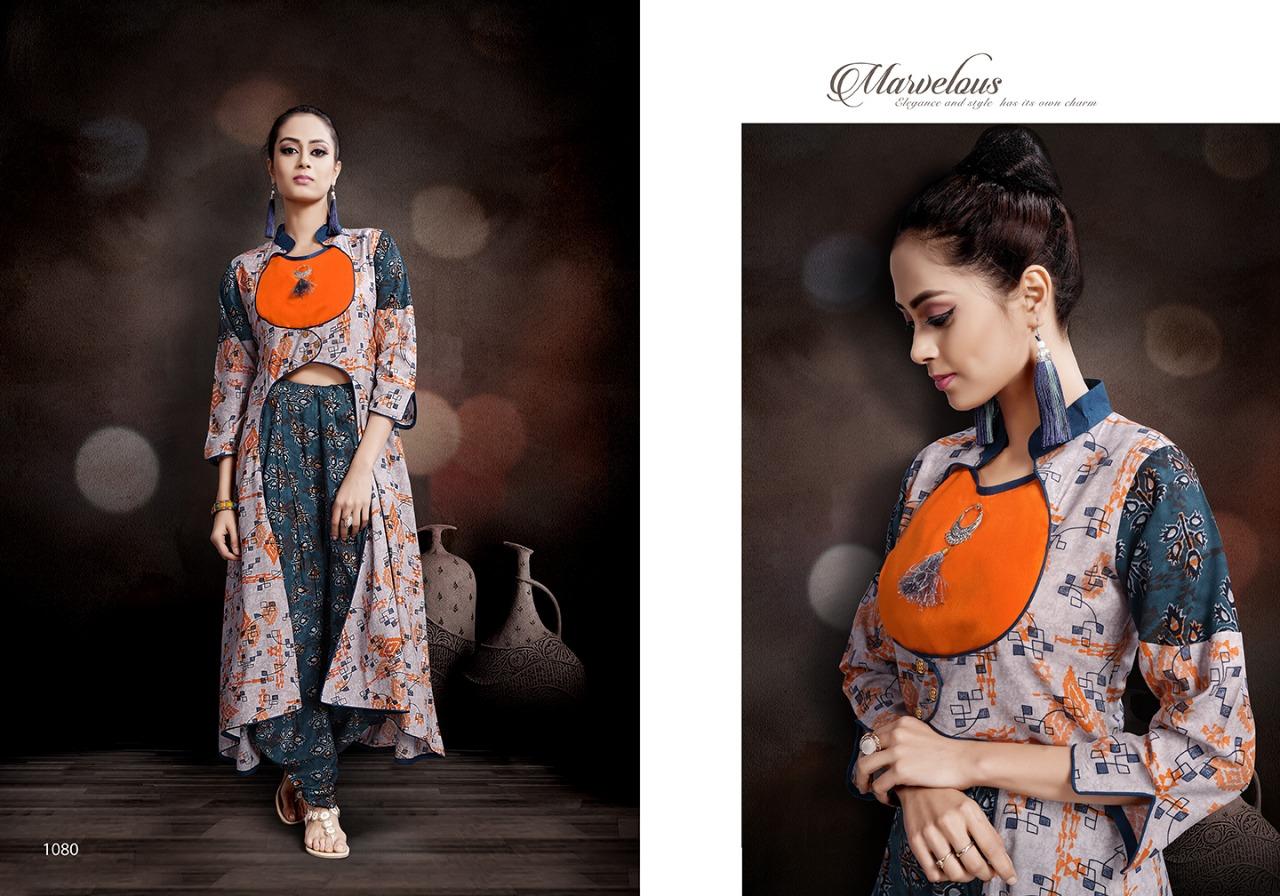 Manya Mansi Fashion Heer Rayon Print Kurti Wholesale