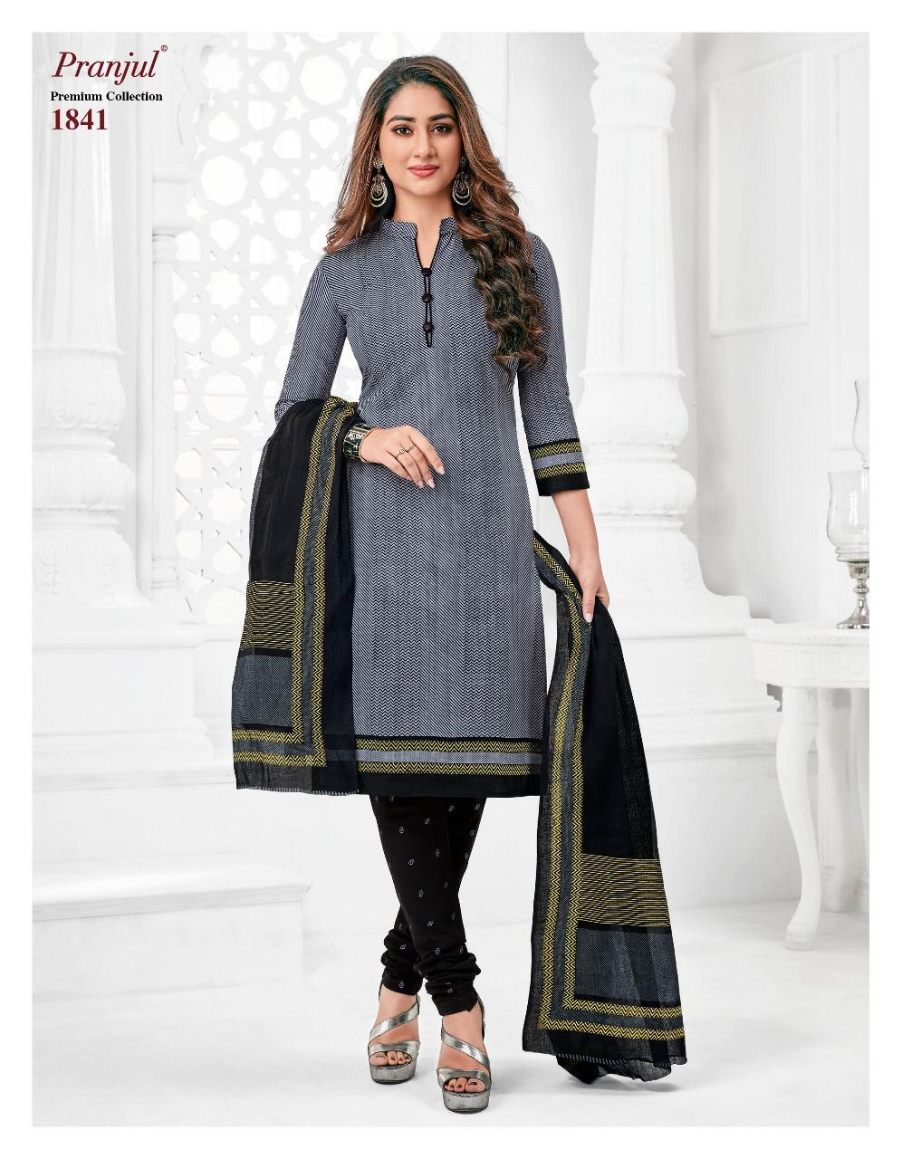 Pranjul Priyanshi Vol 18 Designer Cotton Suits Wholesale