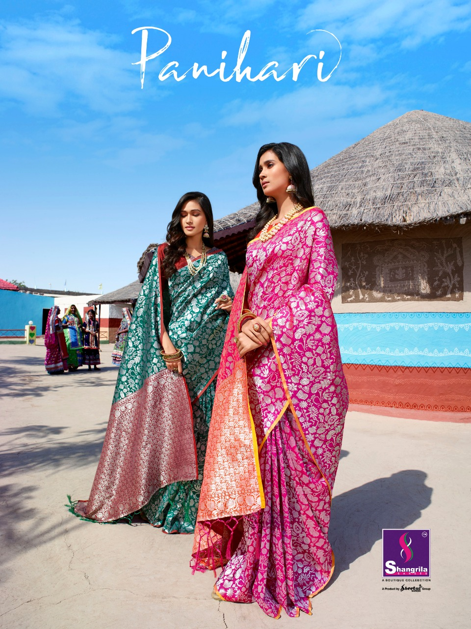 Shangrila Panihri Soft Silky Saree Best Whoesale Rate