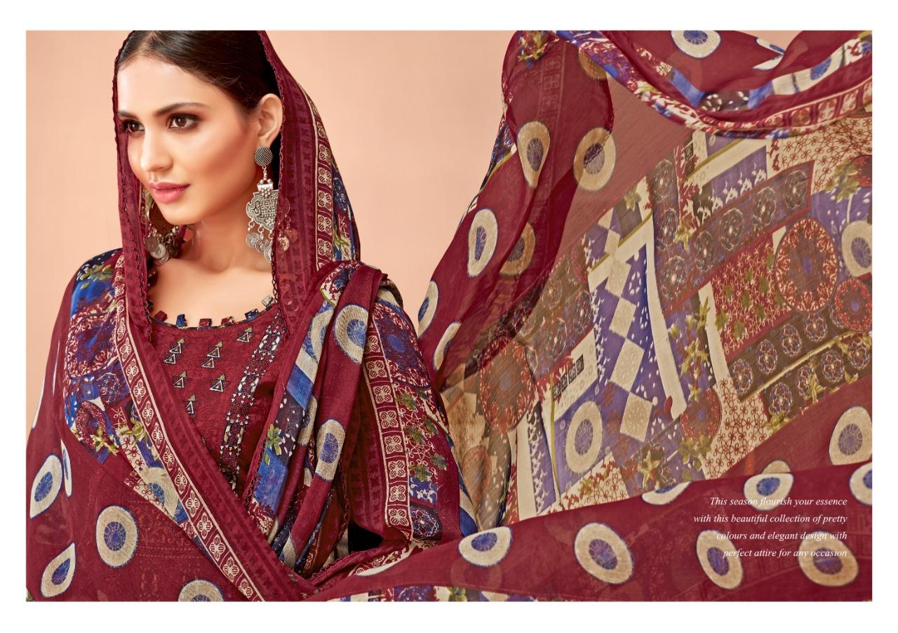 Alok Suit Patiyala Beauty Designer  Cotton Suits Wholesale