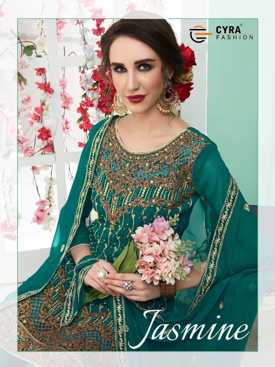 Cyra Fashion Jasmin Eid Collection Designer Suits Wholesale