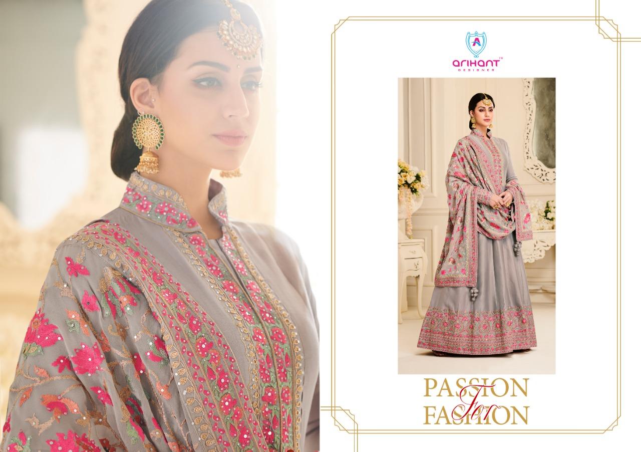 Arihant Designer Ayana  Designer Mull Berry Suits Wholesale.