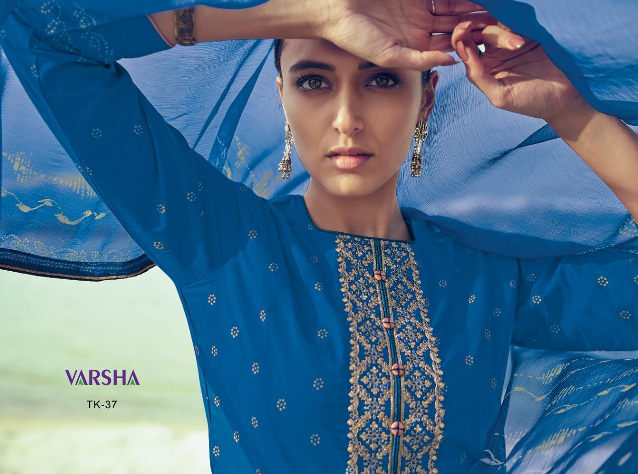 Varshaa Tie & Knots Vol 2 Designer Bandhni Suits Wholesale