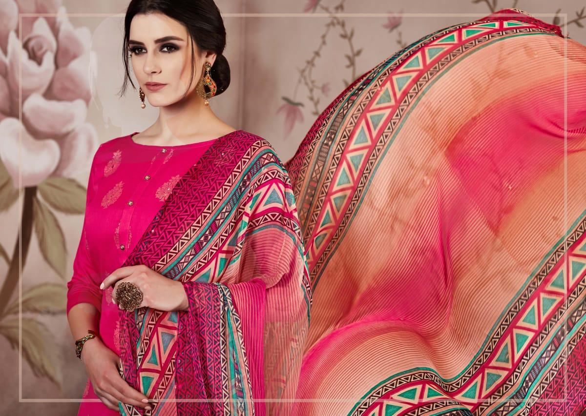 Sargam Florine Designer Shisha Khatliwork Suit Wholesale