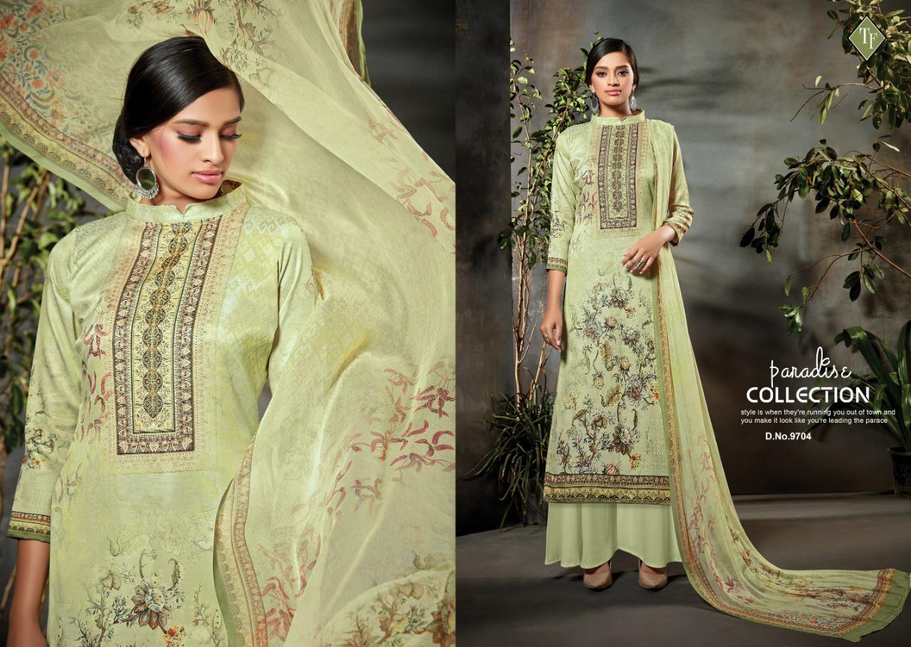 Tanishk Fashion Ozra Designer Jam Silk Suits Wholesale