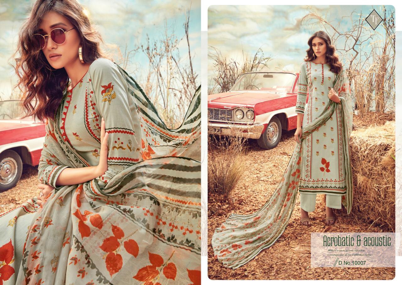 Tanishk Fashion Sana Safinaaz Vol 2 Lawn  Suits Wholsale