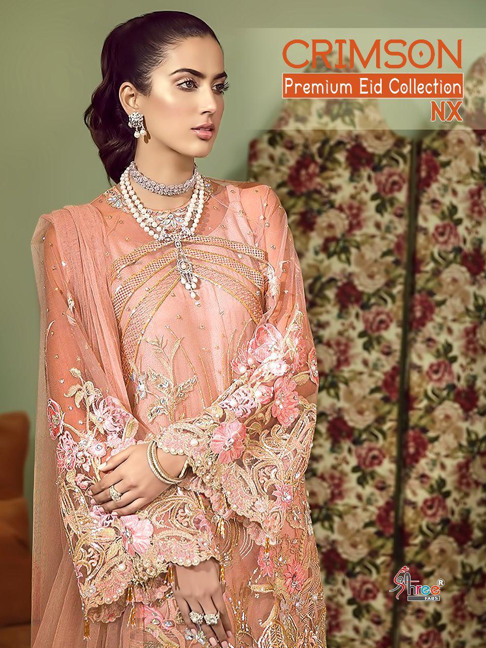Crimson Premium Eid Collection Nx Heavy Emb Suits Wholesale