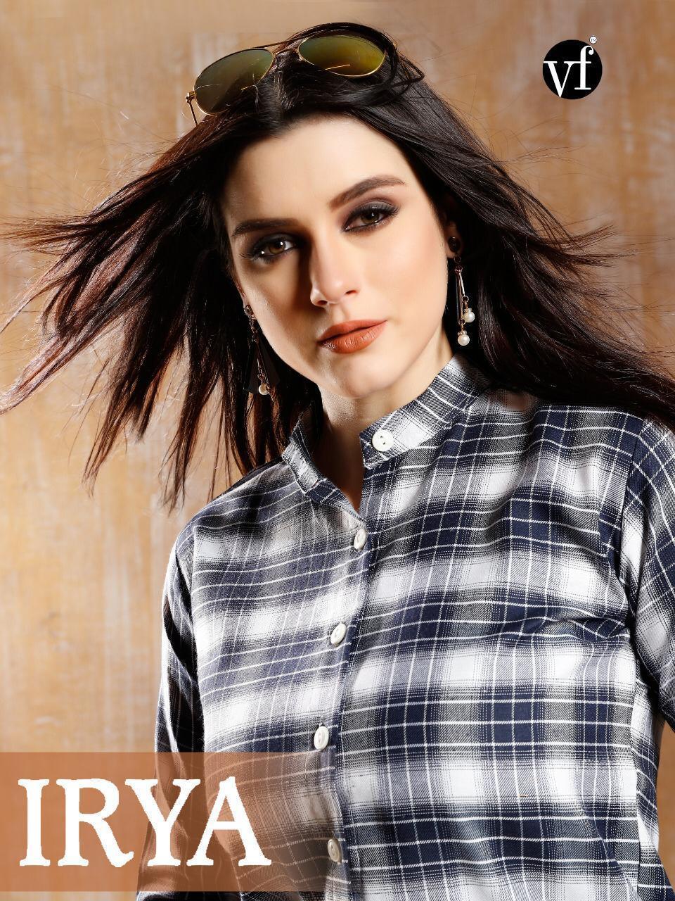Vf India Iriya Designer South Cotton Print Kurtis Wholesale