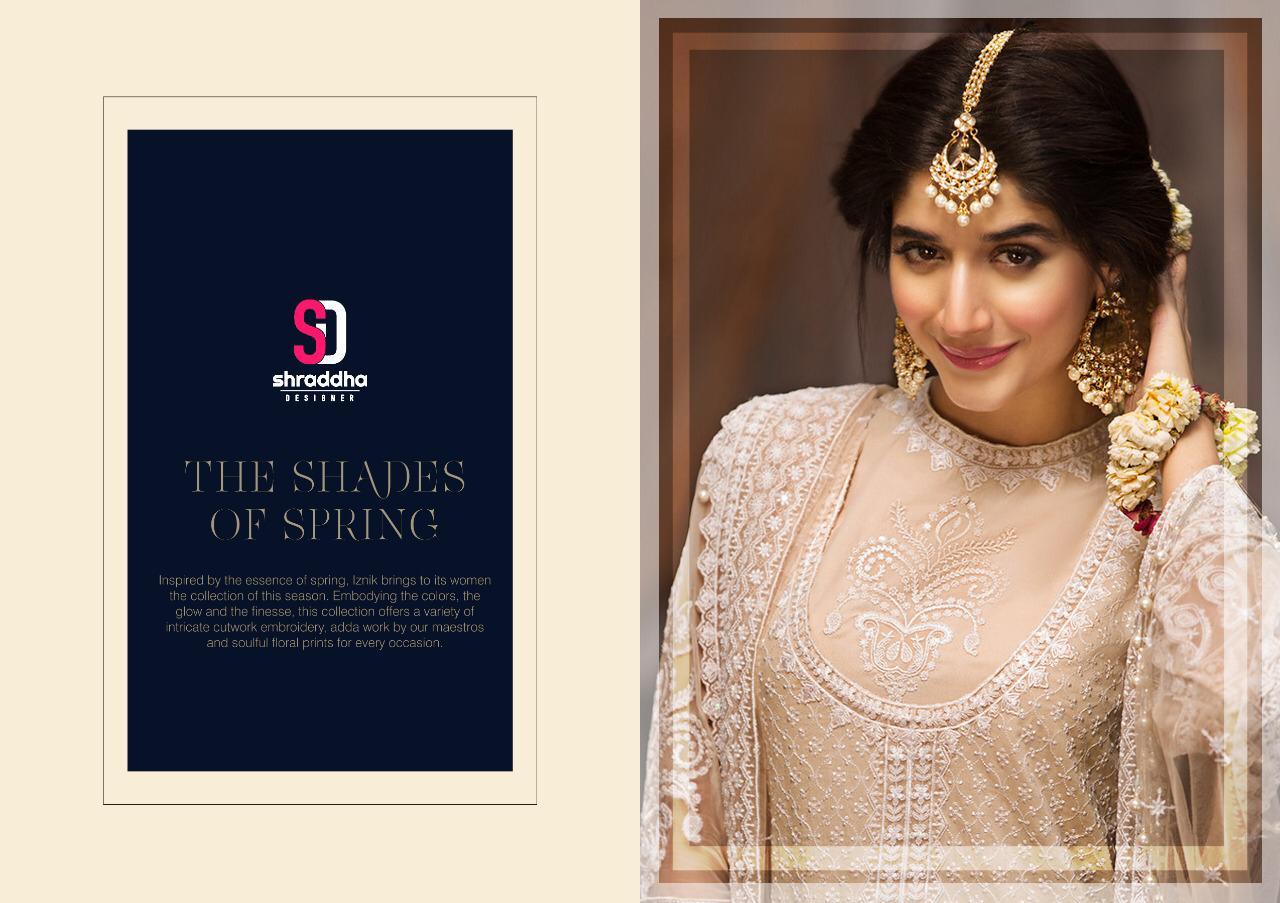 Shraddha Anaya Pro Designer Heavy Net Emb Suits Wholesale