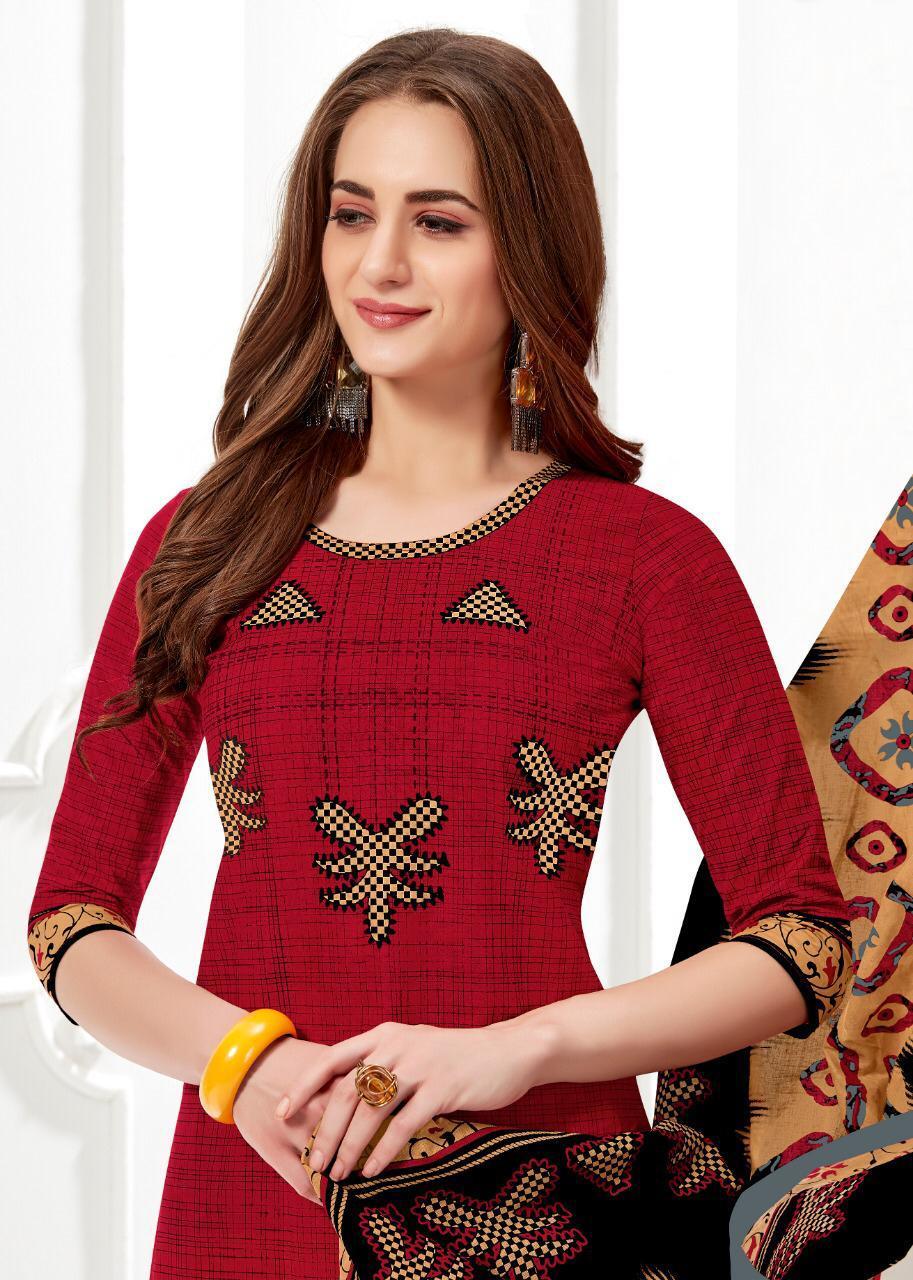 Balaji Cotton Chitra Vol 22 Designer Cotton Suits Wholesale