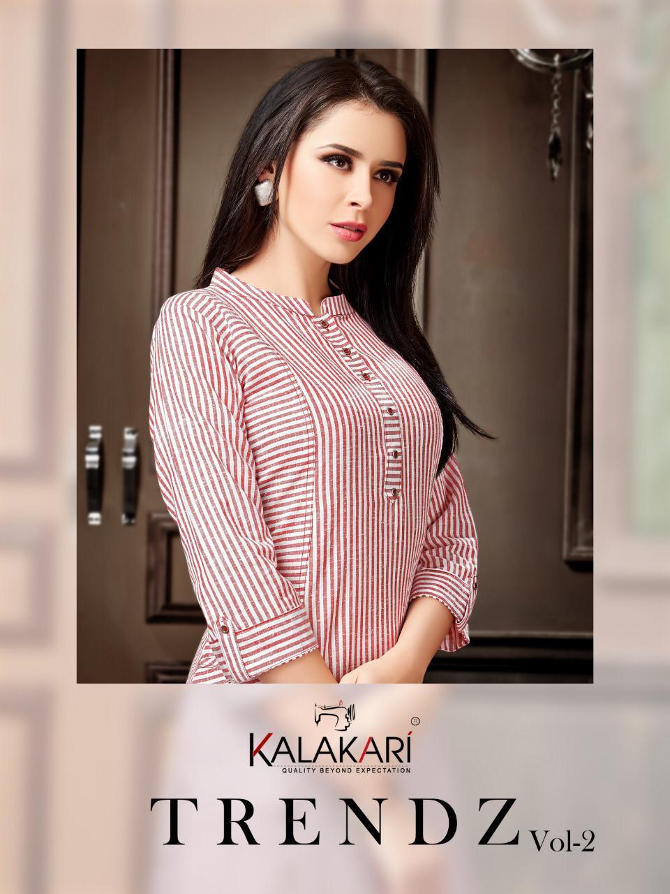 Kalakari Nx Trendz Vol 2 Designer Stitched Kurti Wholesale