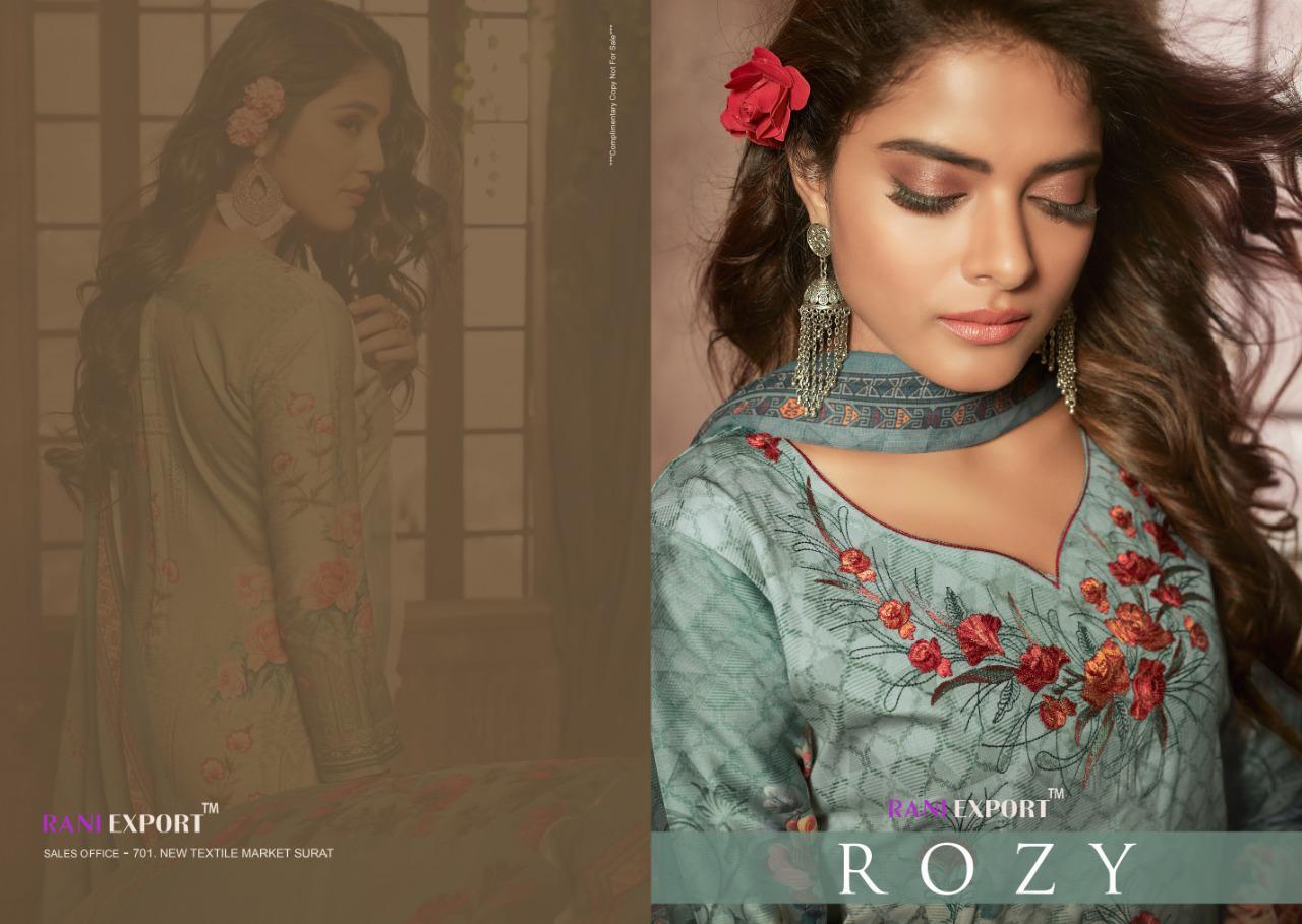 Rani Export Rosy Jam Cotton Suits Wholesale