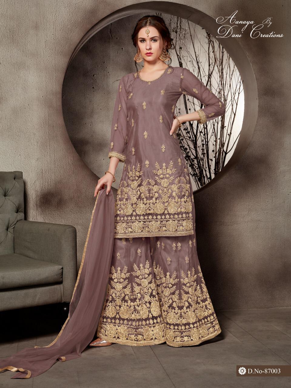 Aanaya 87000 Series Designer Heavy Partywear Suits Wholesale