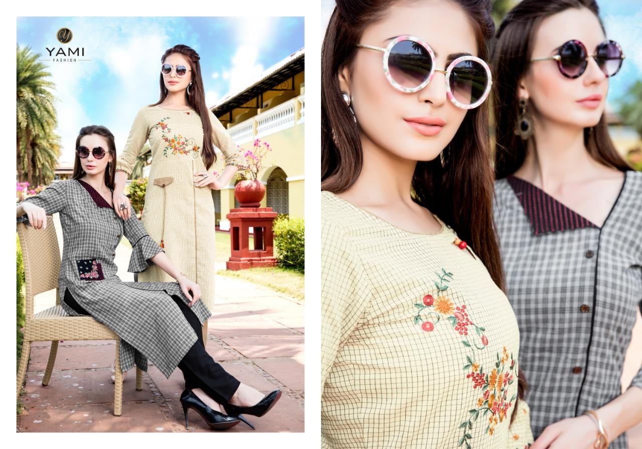 Yami Fashion Culture Vol 2 Designer Kurtis Wholesale