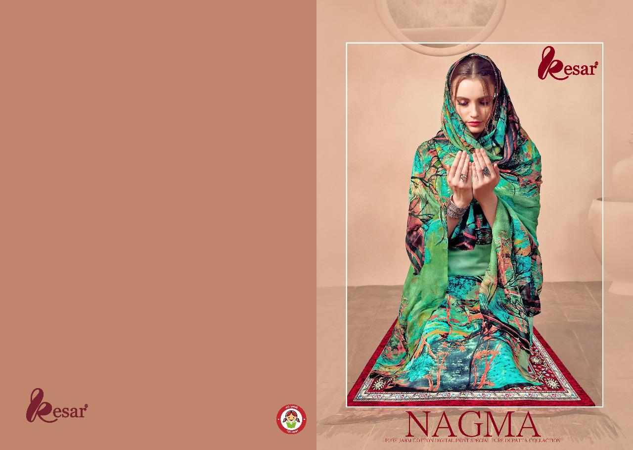 Kesar Nagma Designer Pure Jam Cotton Suits Wholesale
