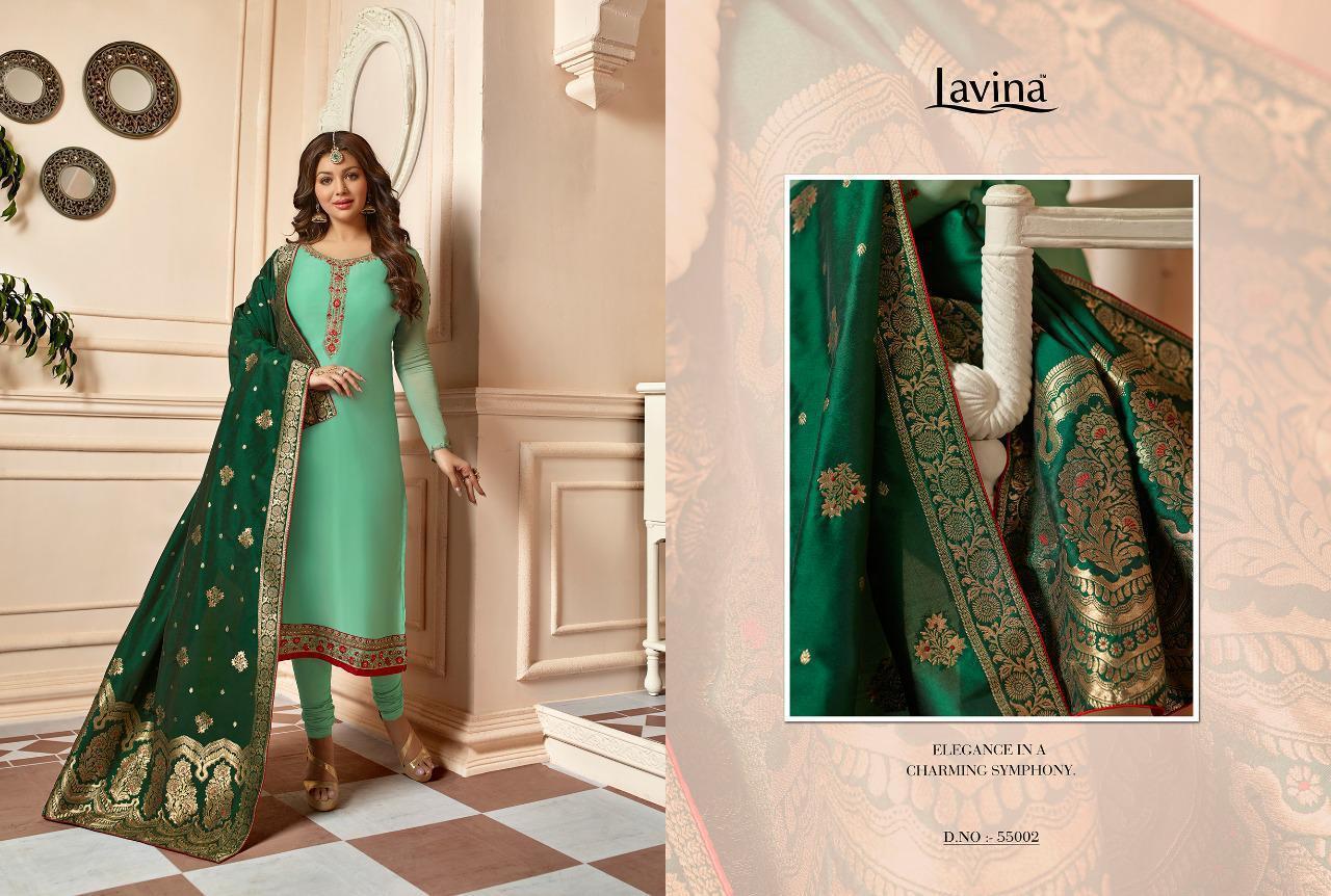 Lavina Vol 55 Designer Georgette Suits Best Wholesale Rate