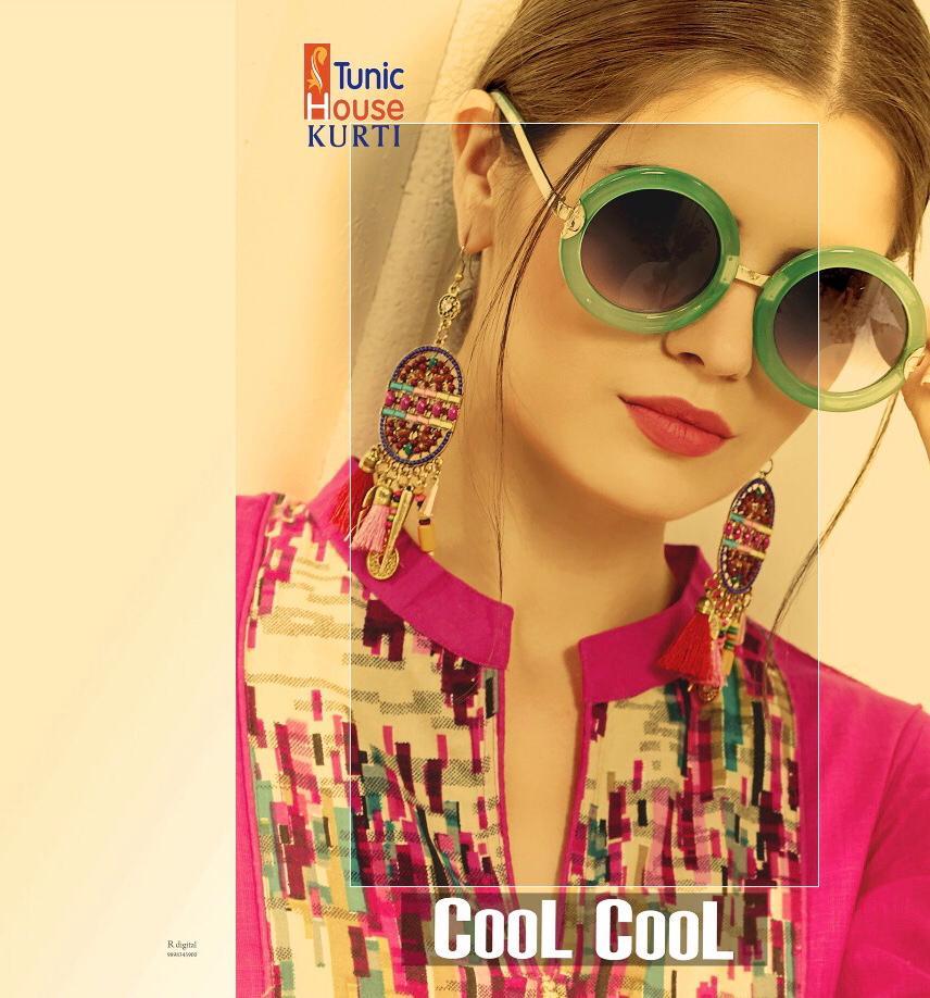 Tunic House Cool Cool Designer Summer Kurtis Wholesale