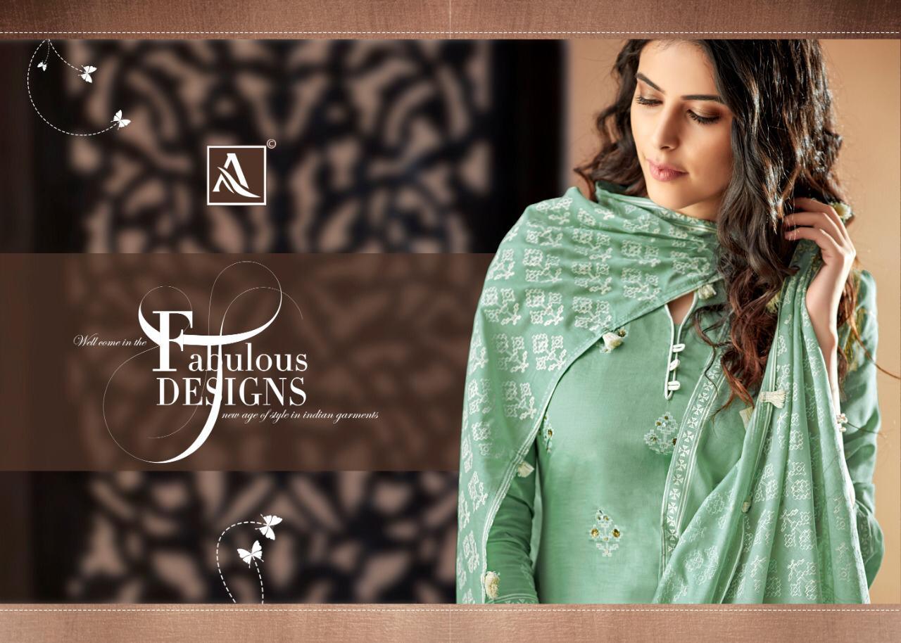 Alok Suit Apsara Designer Cotton Suits Best  Wholesale Rate
