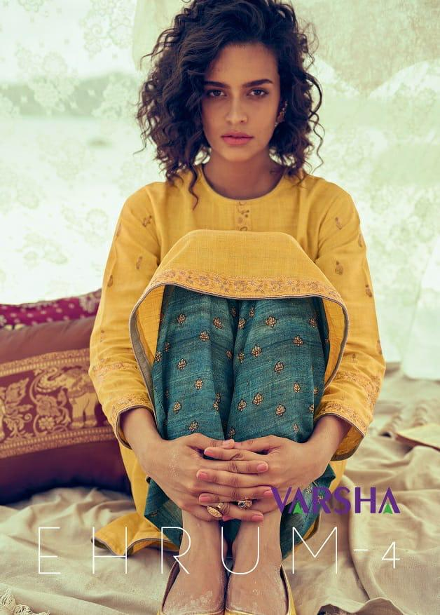 Varshaa Fashion Kaatha Indian Craft Suits Wholesale