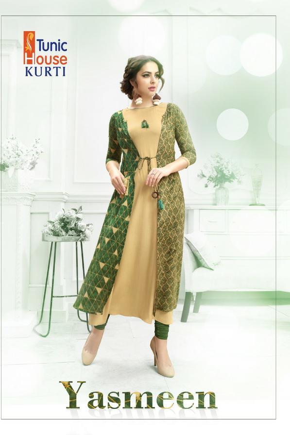 Tunic House Yasmeen Designer Long Kurtis Best Wholesale Rate