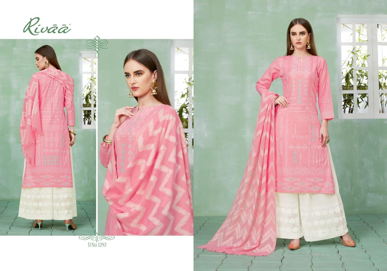 Rivaa Samta Designer Pure Cotton Suits Best Wholesale Rate