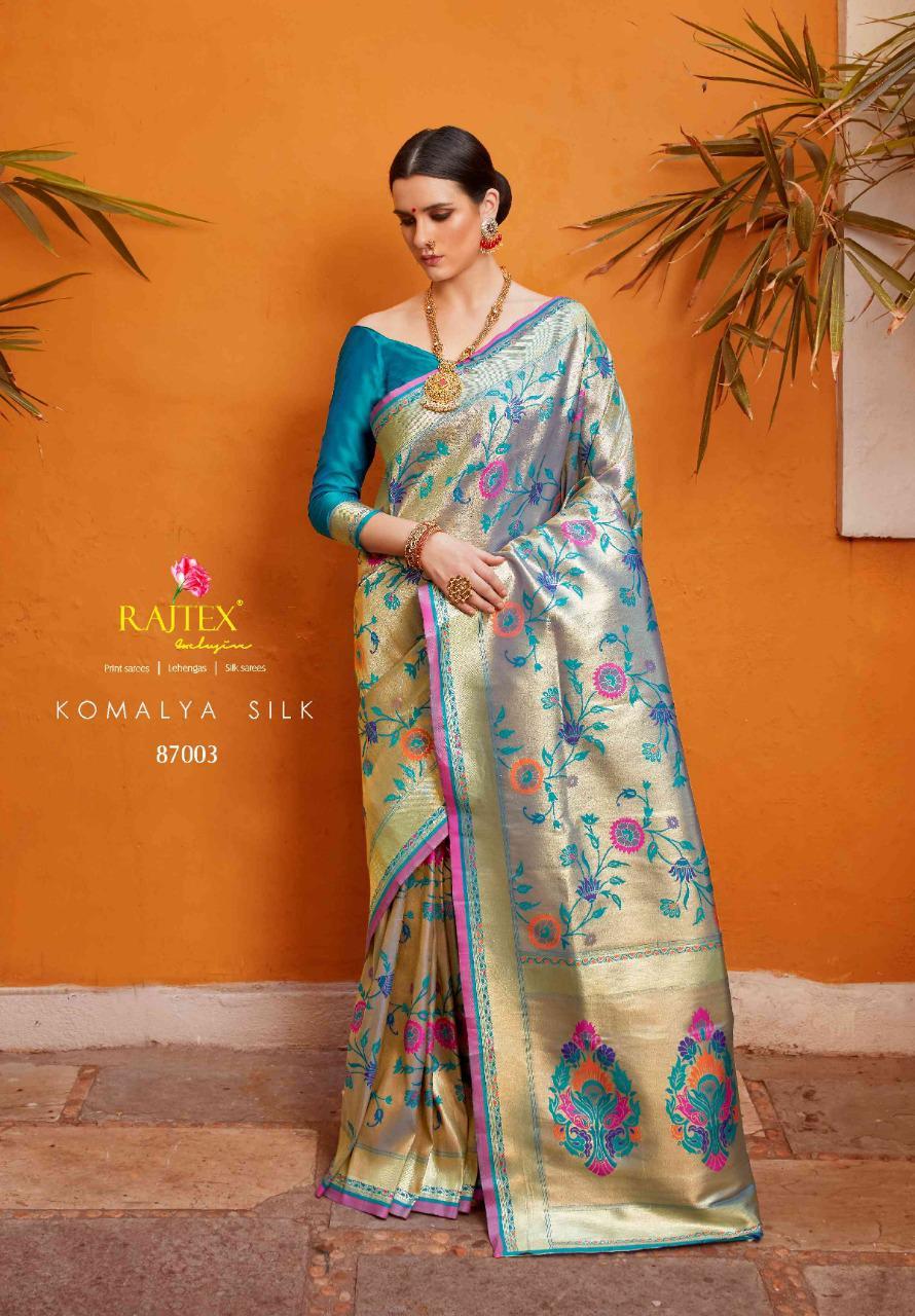Rajtex Komalya Designer Silk Sarees Best Wholesale Rate