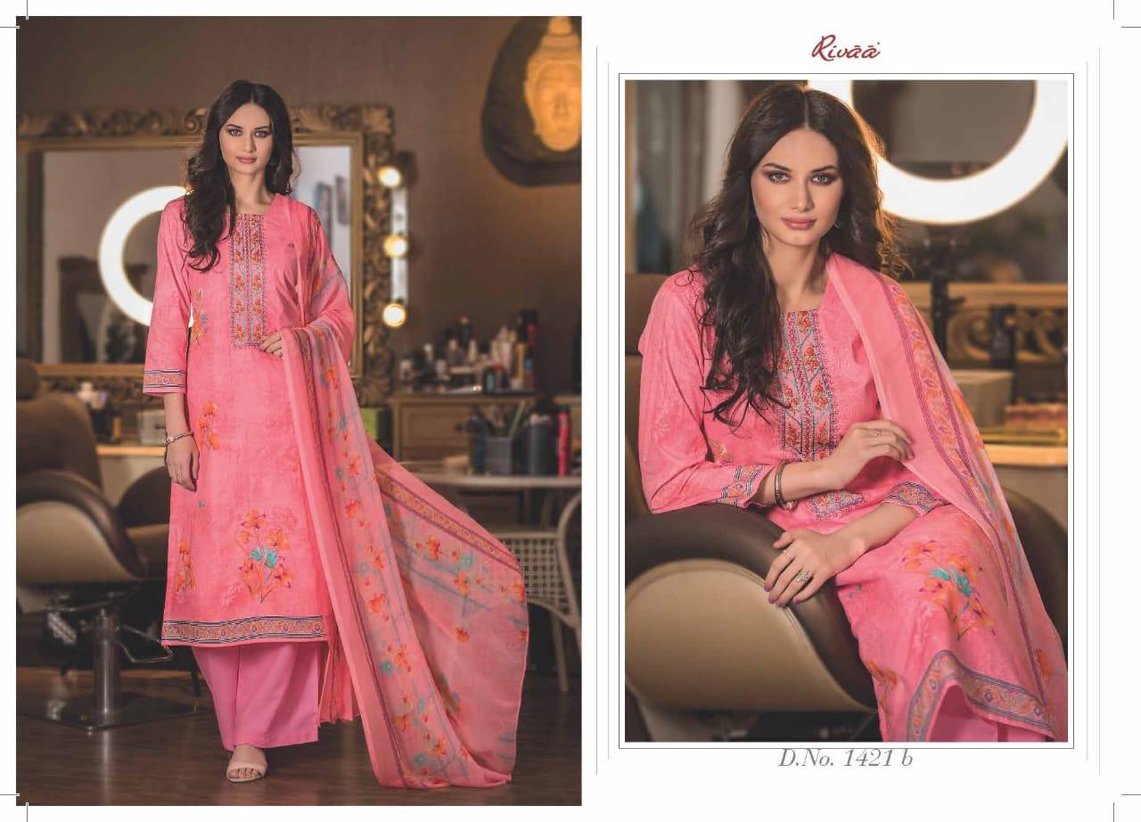 Rivaa Raiska Designer Pure Lawn Suits Wholesale