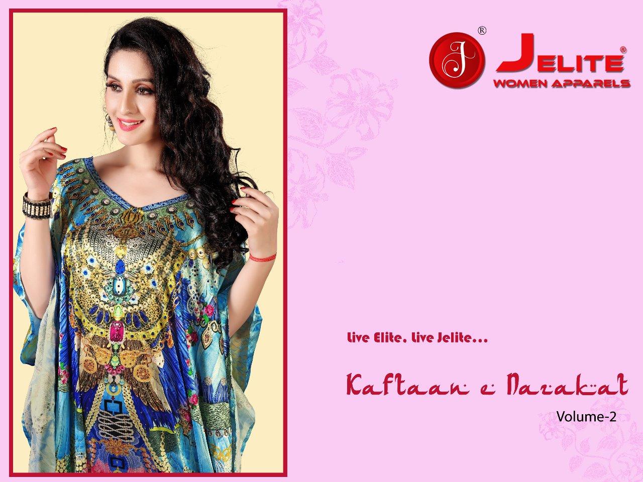 Jelite Kaftan E Nazakat Vol 2 Designer Kaftans Wholesale