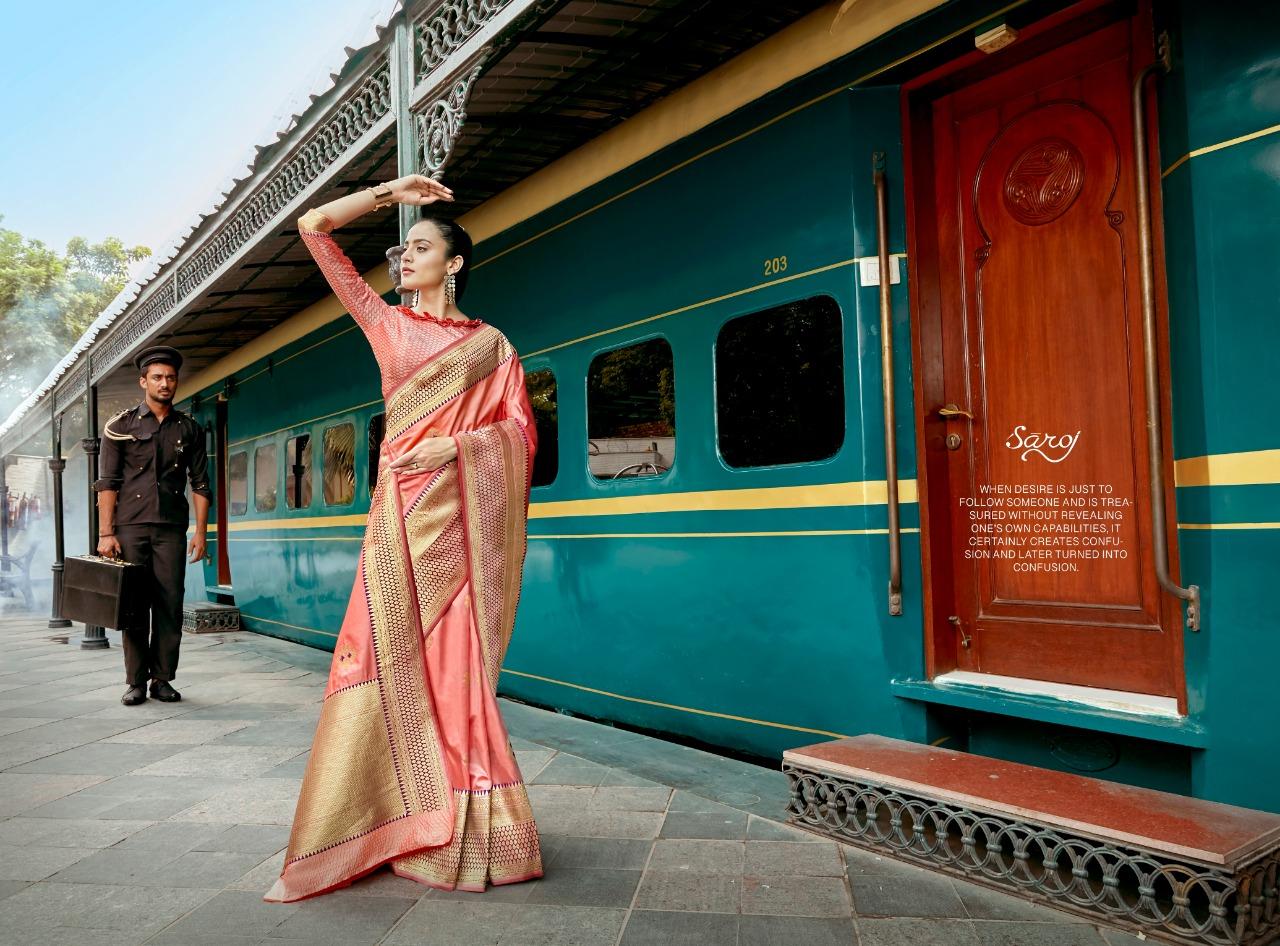 Saroj Saree Soundarya Designer Silk Sarees Best Wholesale Rate