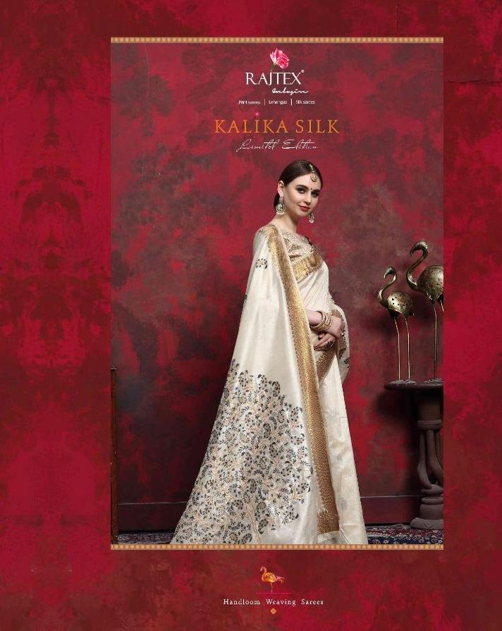 Rajtex Kalika Limited Edition Designer Silk Sarees Wholesale