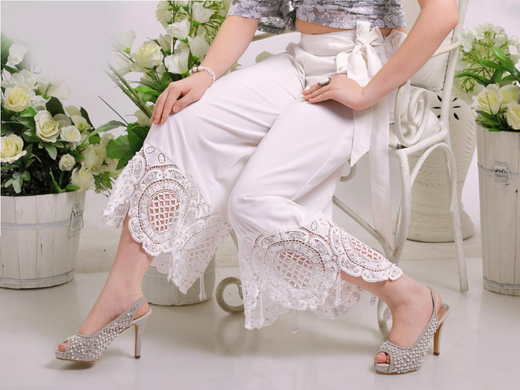 Designer Culottes Pants Designer Heavy Rayon Pants Wholesale