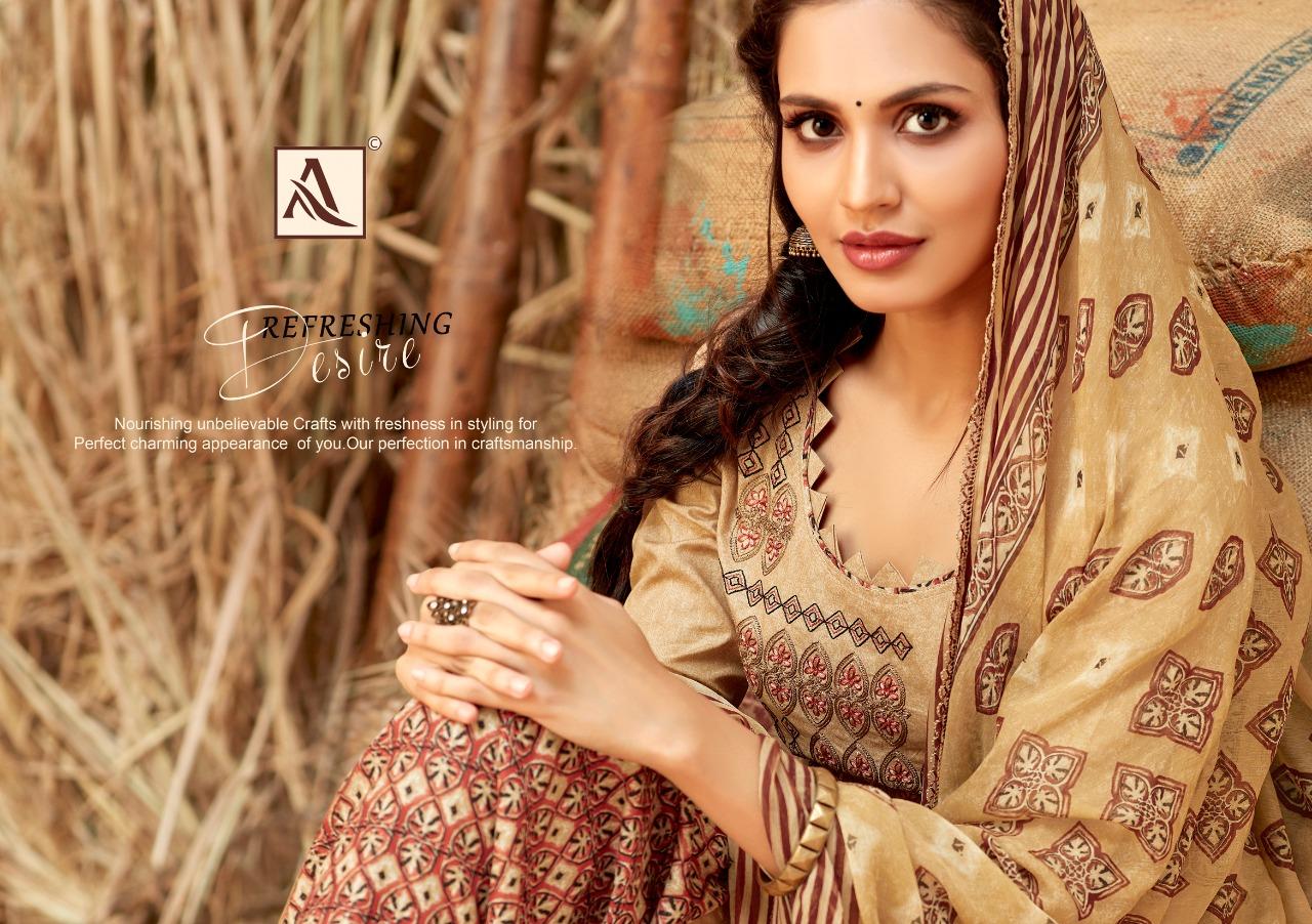 Alok Suit Baatik Culture Designer Premium Patiyala Suits Wholesale Surat