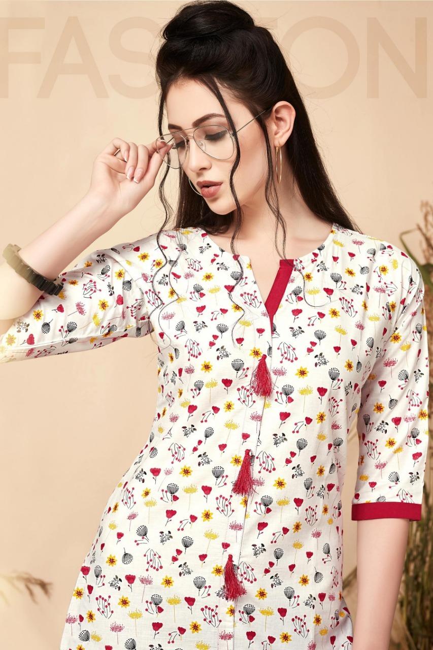 Manisha Fashion Melania Vol 1 Designer Kurti & Plazzo Wholesale