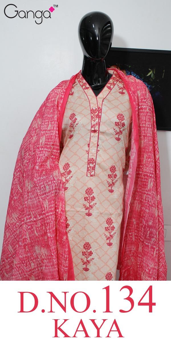 Ganga Brings Kaya 134 Designer Suits Wholesale Surat