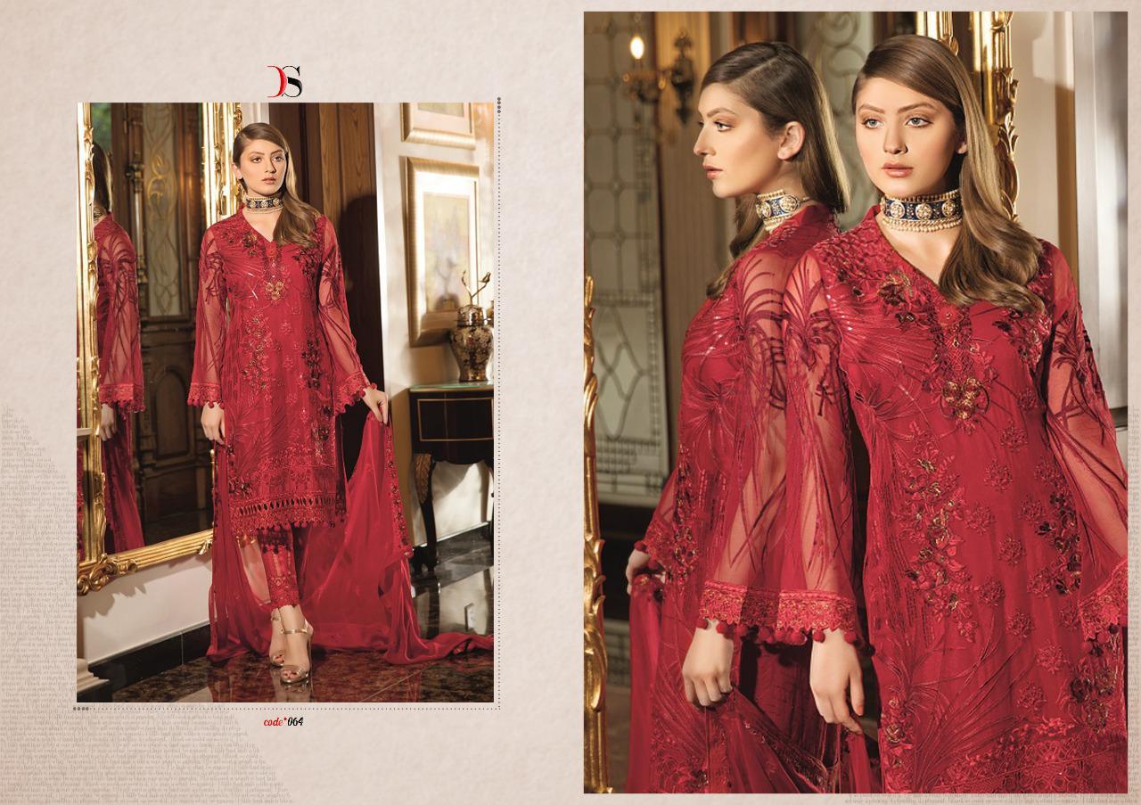 Deepsy Ramsha 2 Designer Partywear Pettern Suits Wholesale